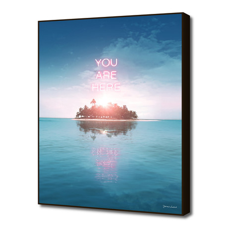 """YOU ARE HERE (16""""W x 20""""H x 0.2""""D)"""