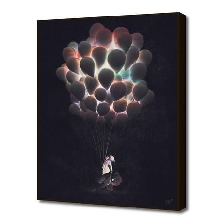 "Balloons (16""W x 20""H x 1.5""D)"
