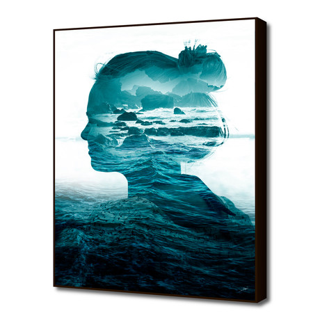 "The Sea Inside Me (16""W x 20""H x 1.5""D)"