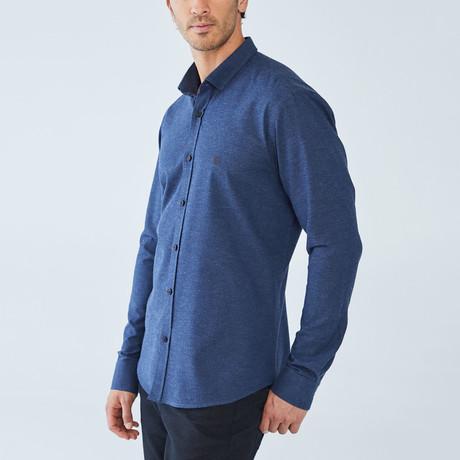 Holland Shirt // Navy (S)