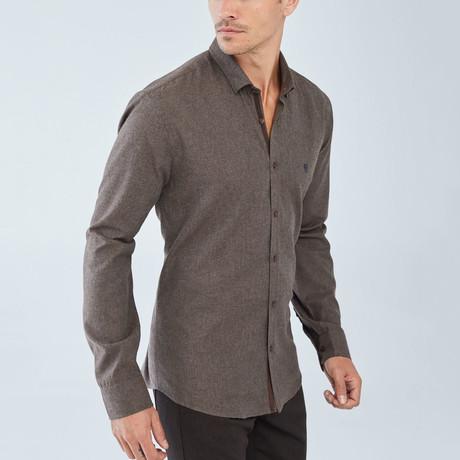 Holland Shirt // Brown (S)