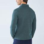 Boris Becker // Cesar Long Sleeve Polo // Green (Large)