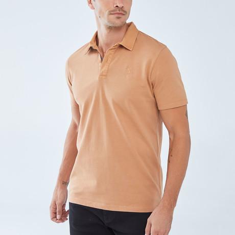 Boris Becker // Benjamin Polo Shirt // Camel (Small)