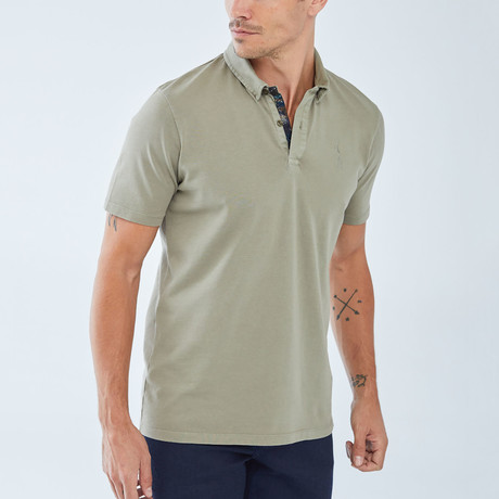Boris Becker // Benjamin Polo Shirt // Green (Small)