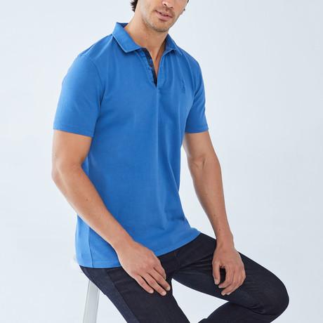 Boris Becker // Benjamin Polo Shirt // Blue (Small)