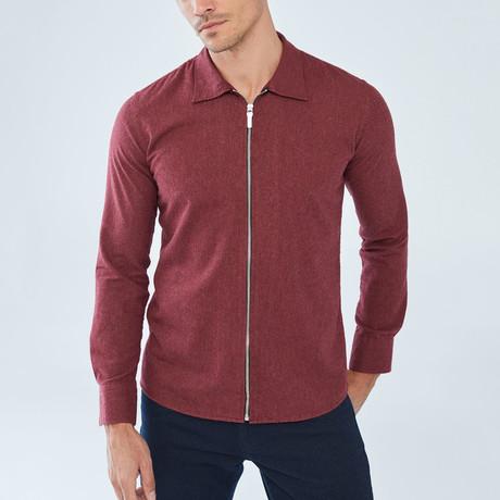 Aden Shirt // Bordeaux (S)