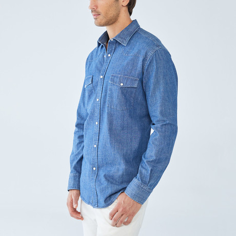 Adrian Shirt // Blue (S)