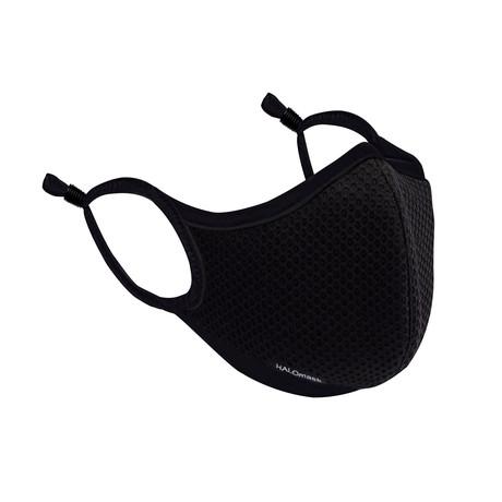 HALO Nanofilter™ Technology // Black Mesh Mask +  3 Nanofilters (Small)