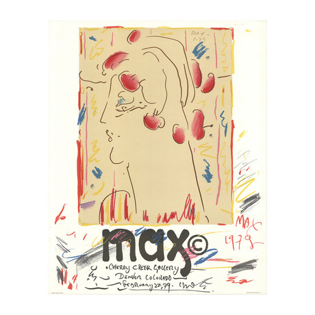 Peter Max // Cherry Creek Gallery // 1979 Lithograph