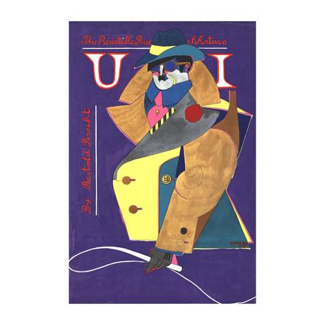 Richard Lindner // The Resistible Rise of Arturo Ui // 1968 Serigraph
