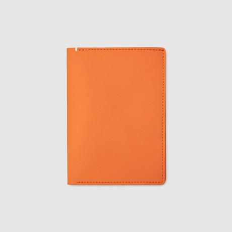 Passport Wallet // Sport Leather // Non-RFID Blocking (Black)
