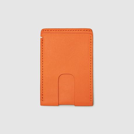 Card Wallet with Cash Pocket // RFID Blocking (Black)