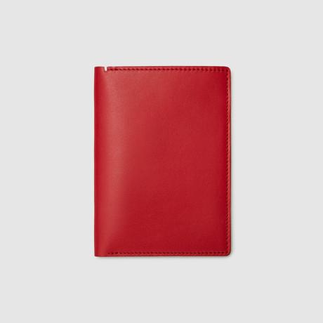 Passport Wallet // Non-RFID Blocking (Black)