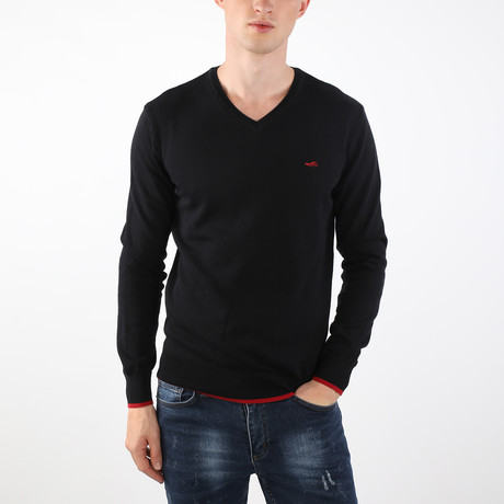 Canne Pullover // Black (S)