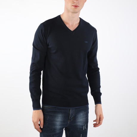 Canyon Pullover // Navy (S)