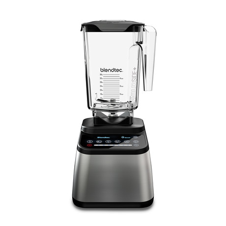Designer 650 Blender + WildSide Jar // Stainless Steel + Black