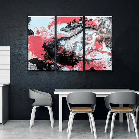 Abstract Coral Overture (Small // 1 Panel)