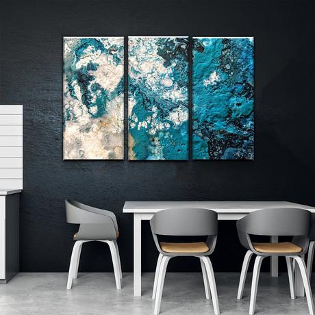 Turquoise Sonata (Small // 1 Panel)