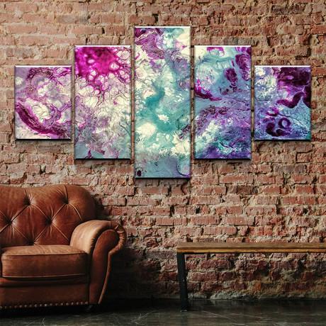 Purple Teal (Small // 1 Panel)
