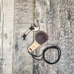 Brass Miniature Axe // Neck Knife // Turk