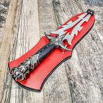 Display Medusa Fantasy Blade // Dual Tip // Dagger // 440C Blade