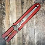 Display Fantasy Sword // Walnut Handle // 440C Blade