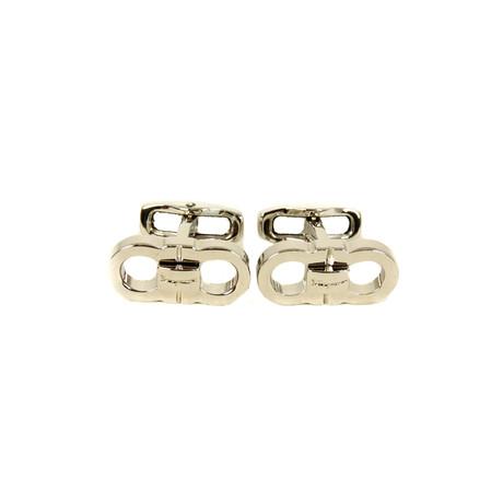 Gancini Cufflinks II // Silver