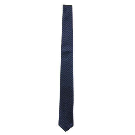 Silk Tie // Navy