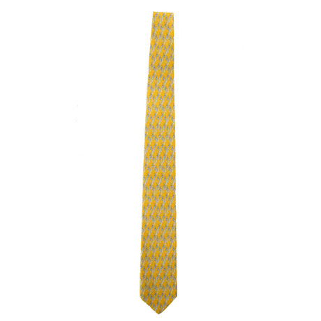 Silk Tie // Yellow