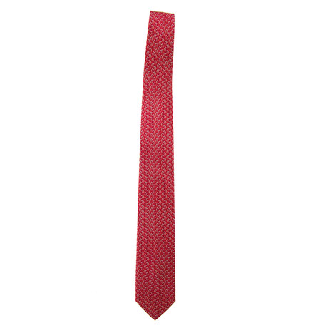 Silk Penguin Tie // Red