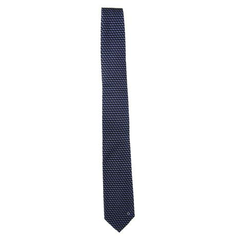 Silk Tie // Blue + Navy