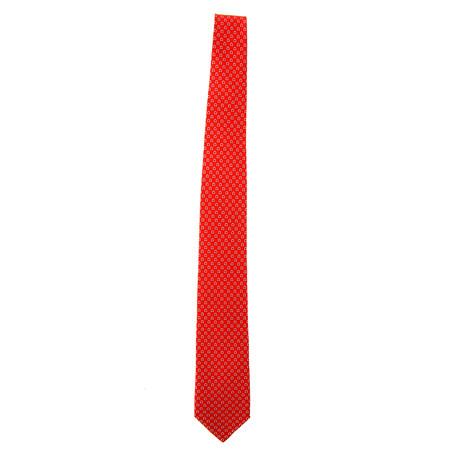 Silk Tie // Red