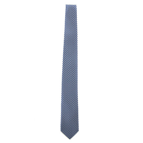 Silk Squirrel Tie I // Blue