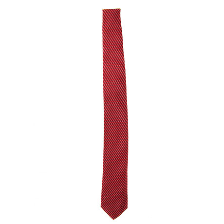 Silk Tie // Burgundy + Red