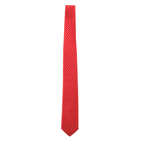 Silk Mouse Tie // Red