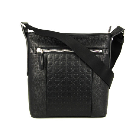 Black Cross Body Bag // Black