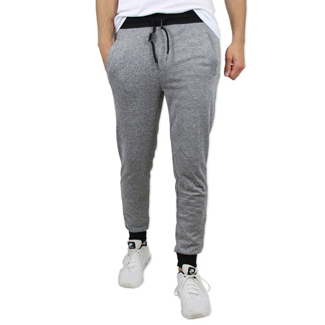 French Terry Jogger // Heather Gray (S)
