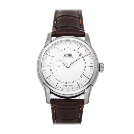 Oris Artelier Small Second Pointer Date Automatic // 01 744 7665 4051-07 5 22 70FC // Pre-Owned