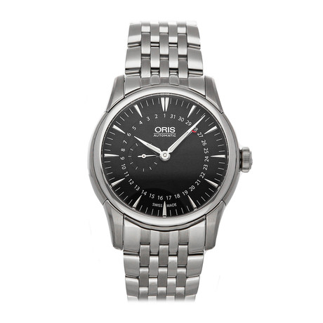 Oris Artelier Small Second Pointer Date Automatic // 01 744 7665 4054-07 8 22 77 // Pre-Owned