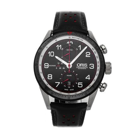 Oris Calobra Chronograph Automatic // 01 774 7661 4484-Set // Pre-Owned