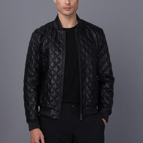 Gabriel Leather Jacket // Black (S)