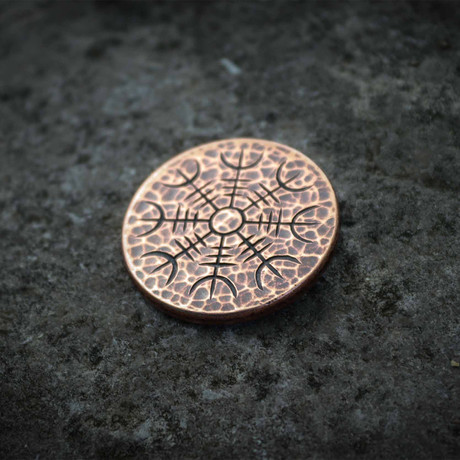 Helm of Awe Copper Coin