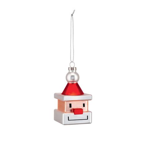 Santa Cube Ornament