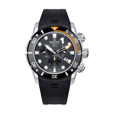 Edox Sharkman II Chronograph Quartz // 10234 3O NIN