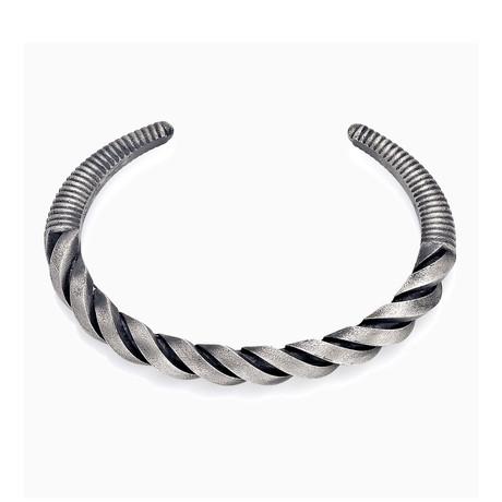 Spiral Bracelet // Silver