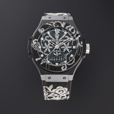 Hublot Big Bang Broderie Automatic // 343.CS.6570.NR.BSK16 // Pre-Owned