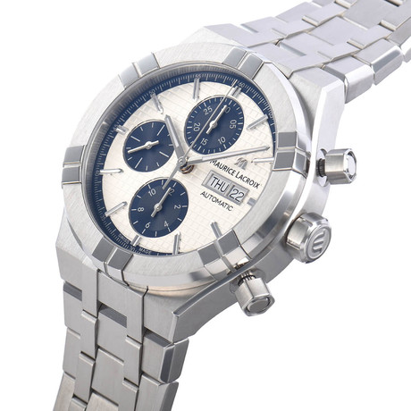 Maurice Lacroix Aikon Chronograph Automatic // AI6038-SS002-131-1 // Store Display