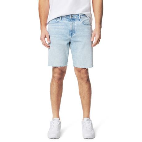 The Slim Bermuda Short // Azul (28)