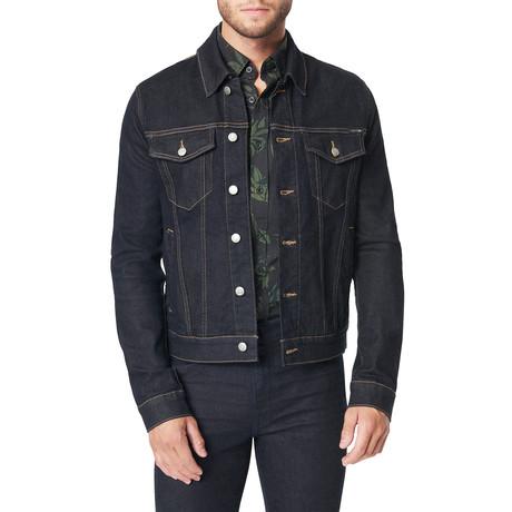 Condense Indigo Trucker Jacket // Indigo (S)