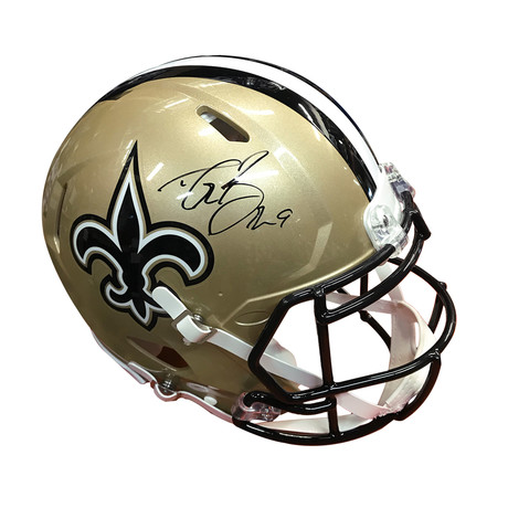 Drew Brees // Authentic Helmet // Signed